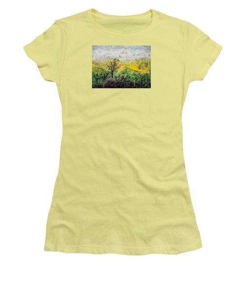 Peneplain Women's T-Shirt (Junior Cut) by Ron Richard Baviello