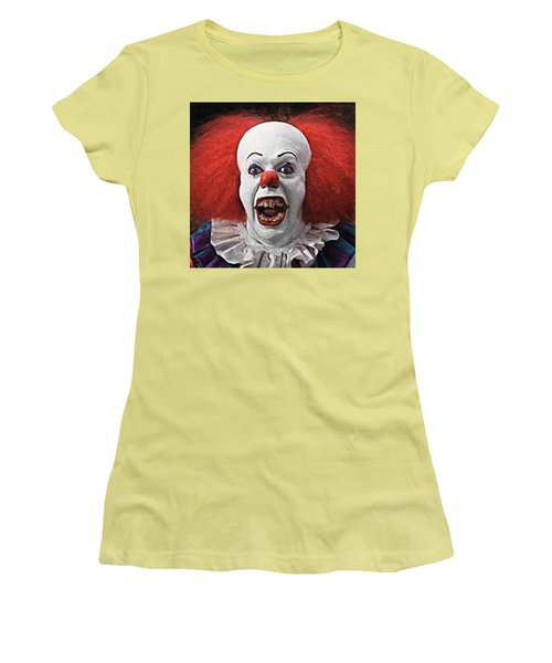 Pennywise The Clown Women's T-Shirt (Athletic Fit)