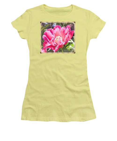 Peony Hawaii Women's T-Shirt (Athletic Fit)