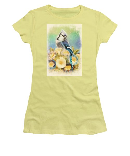 Perfectly Poised Women's T-Shirt (Junior Cut) by Tina LeCour