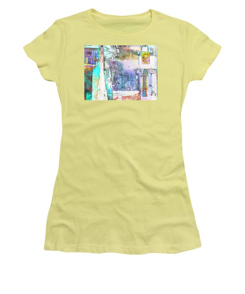 Women's T-Shirt (Junior Cut) featuring the photograph Performance Arts by Susan Stone