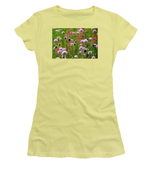 Perky Chives Women's T-Shirt (Junior Cut) by Betsy Zimmerli