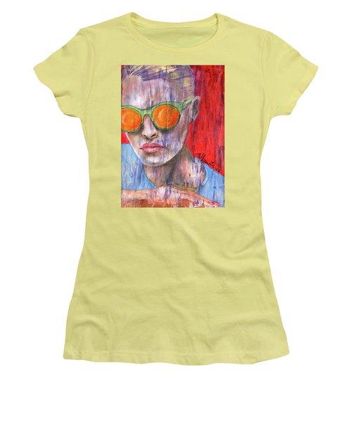 Peta Women's T-Shirt (Junior Cut) by P J Lewis