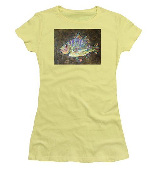 Peter The Perch Women's T-Shirt (Athletic Fit)