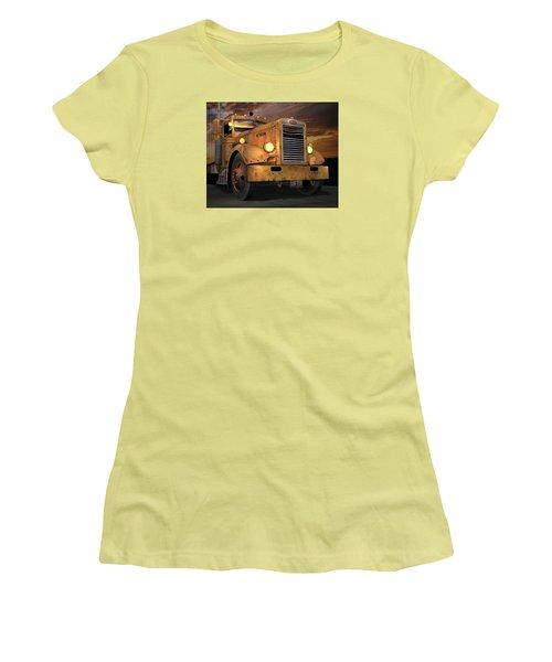 Peterbilt Ol Yeller Women's T-Shirt (Junior Cut) by Stuart Swartz