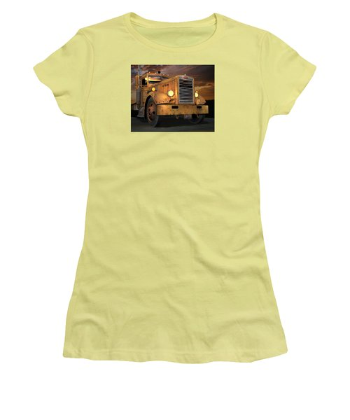 Peterbilt Ol Yeller Women's T-Shirt (Athletic Fit)