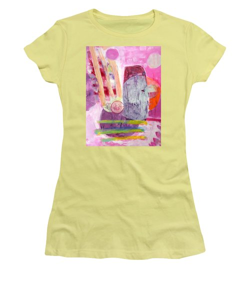 Phases Women's T-Shirt (Junior Cut) by Mary Schiros