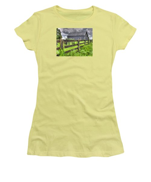 Phillip's Barn #4 Women's T-Shirt (Athletic Fit)