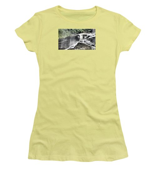 Picture Of Waterfalls At Letchworth Women's T-Shirt (Athletic Fit)