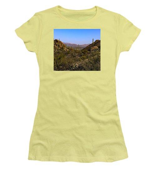 Picture Rocks 24 Women's T-Shirt (Athletic Fit)
