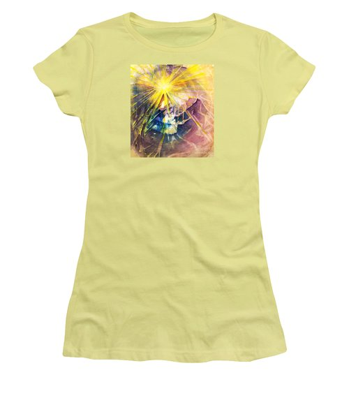 Piercing Light Women's T-Shirt (Junior Cut) by Allison Ashton