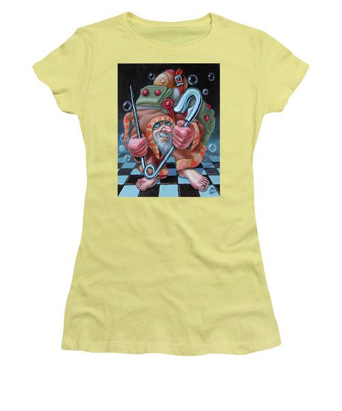 Pin Women's T-Shirt (Athletic Fit)