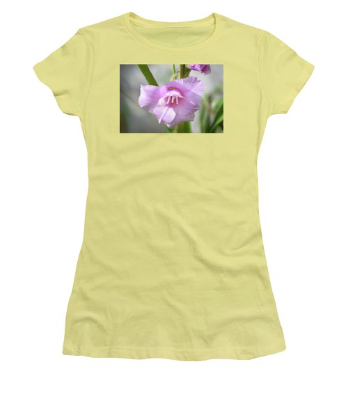 Women's T-Shirt (Junior Cut) featuring the photograph Pink Blush by Terence Davis