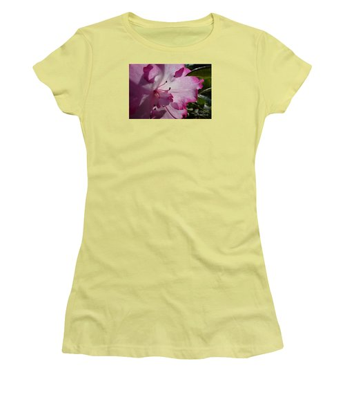 Pink Flowers 1 Women's T-Shirt (Athletic Fit)
