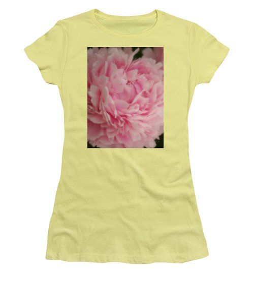 Pink Peony Women's T-Shirt (Athletic Fit)