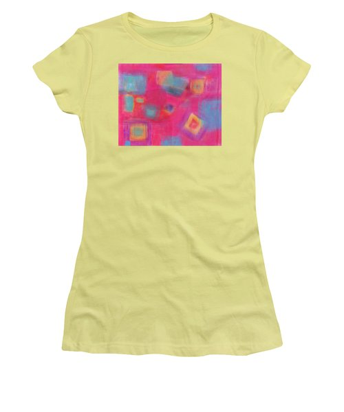 Pink Play Women's T-Shirt (Junior Cut) by Susan Stone