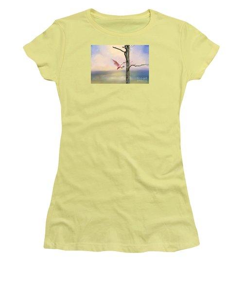 Pink Wonder Women's T-Shirt (Athletic Fit)