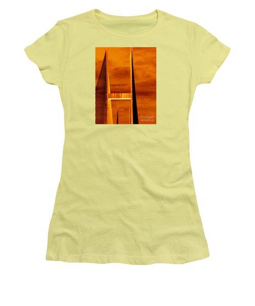 Pinnacle Women's T-Shirt (Athletic Fit)