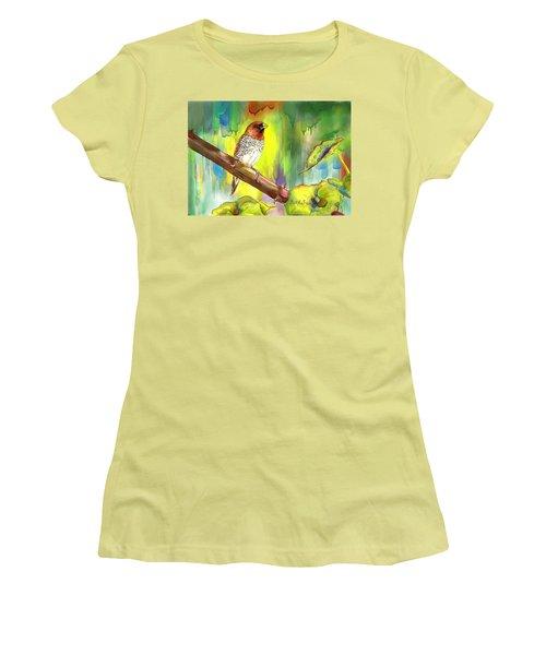 Pinzon Canella Women's T-Shirt (Junior Cut) by Janet Garcia