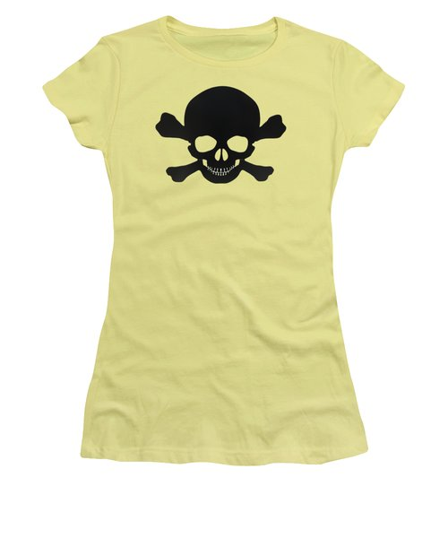 Pirate Skull And Crossbones Women's T-Shirt (Athletic Fit)