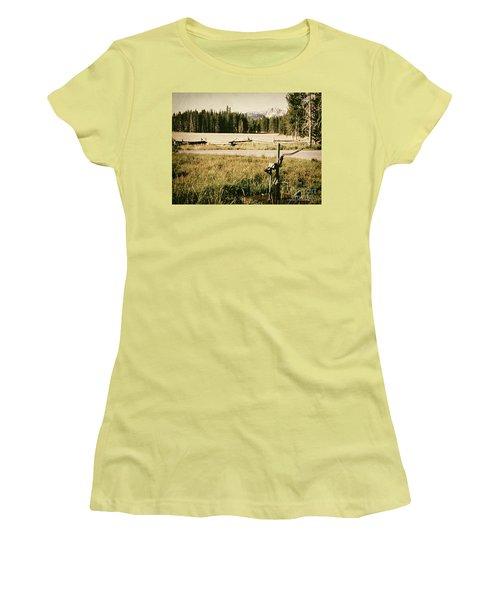 Pitcher Pump Women's T-Shirt (Athletic Fit)