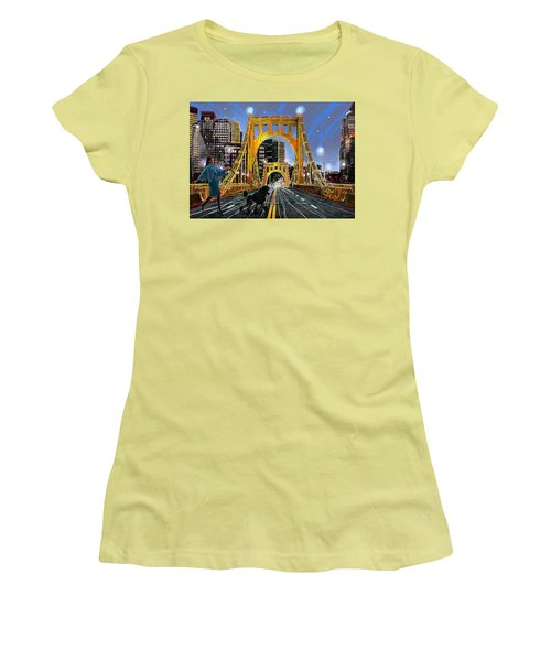 Pittsburgh Chic Women's T-Shirt (Athletic Fit)