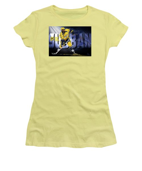 Pk Subban Women's T-Shirt (Athletic Fit)