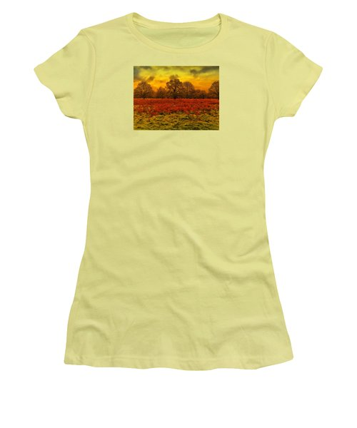 Plain And Simple Women's T-Shirt (Athletic Fit)