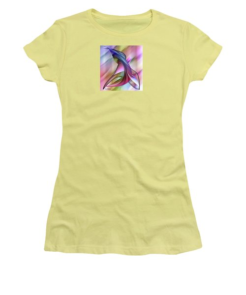 Playful Abstract  Women's T-Shirt (Athletic Fit)