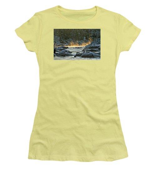 Playfull Mist Women's T-Shirt (Junior Cut) by Robert Charity