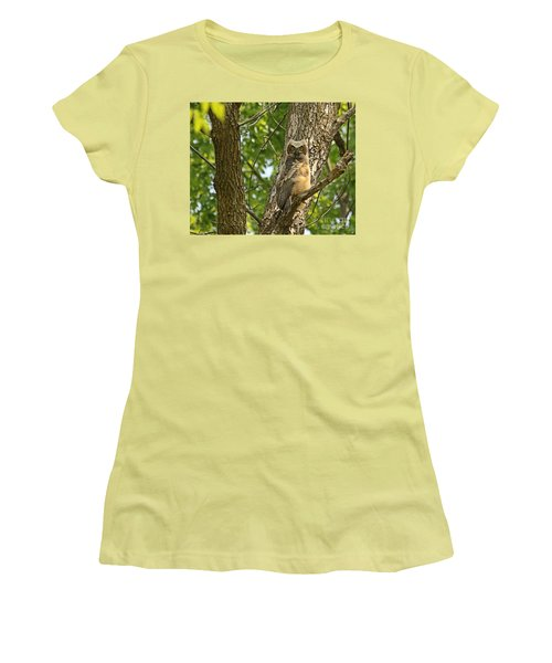 Women's T-Shirt (Junior Cut) featuring the photograph Pleasantly Surprised  by Heather King