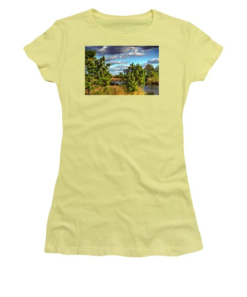 Pleasure House Point Natural Area  Women's T-Shirt (Athletic Fit)