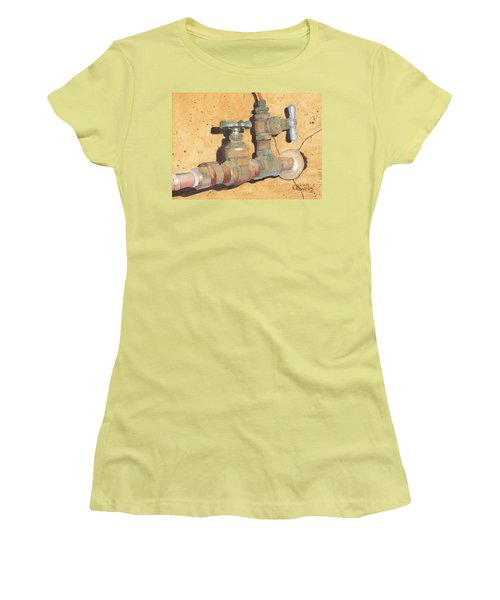 Plumbing Women's T-Shirt (Athletic Fit)