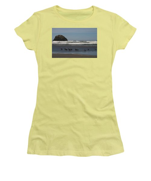 Poetry In Motion Women's T-Shirt (Junior Cut) by Marie Neder