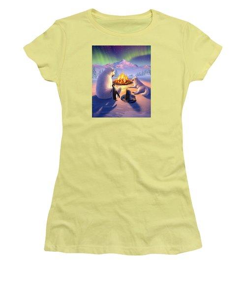Polar Pals Women's T-Shirt (Athletic Fit)