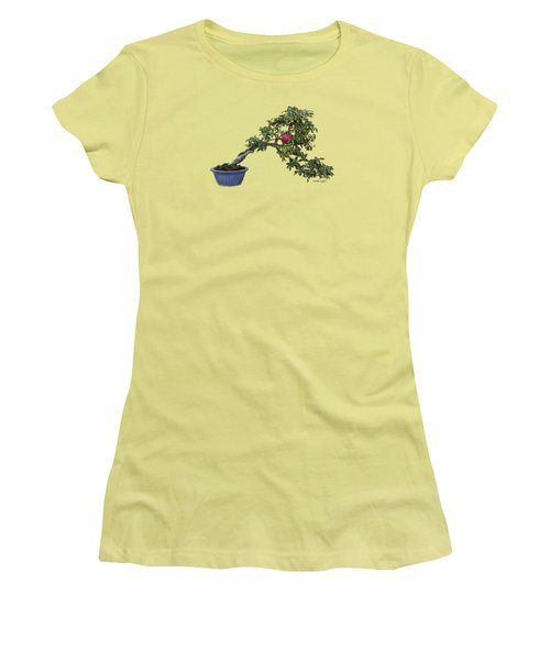 Pomegranate - Apparel Women's T-Shirt (Junior Cut) by Loretta Luglio