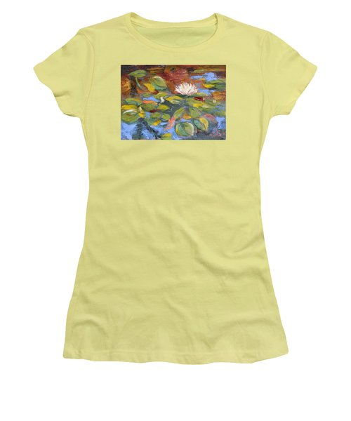 Pond Play Women's T-Shirt (Athletic Fit)