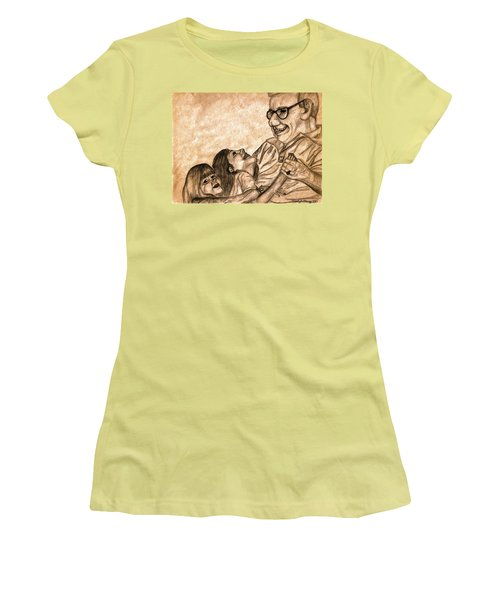 Pop And Us Women's T-Shirt (Junior Cut) by Angela Murray