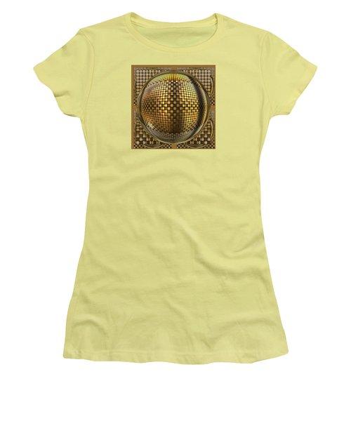 Pop Art Circles Women's T-Shirt (Athletic Fit)
