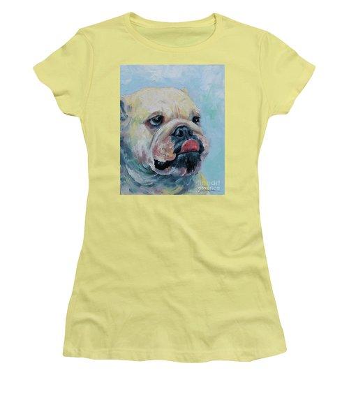 Pork Chop Women's T-Shirt (Junior Cut) by William Reed