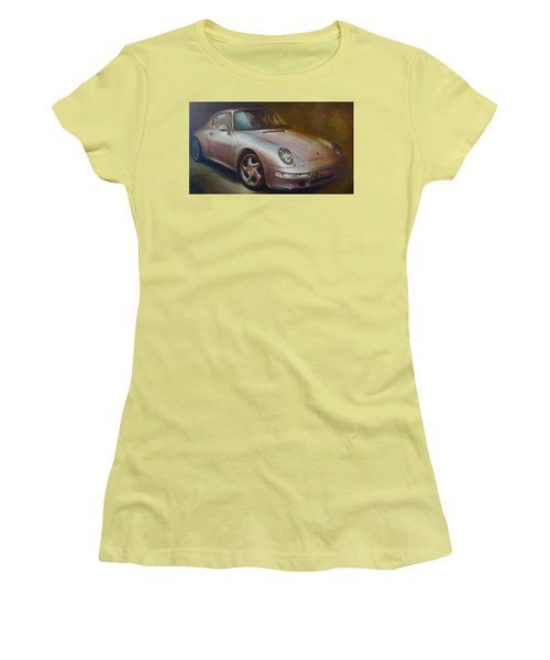Porsche Women's T-Shirt (Junior Cut) by Vali Irina Ciobanu
