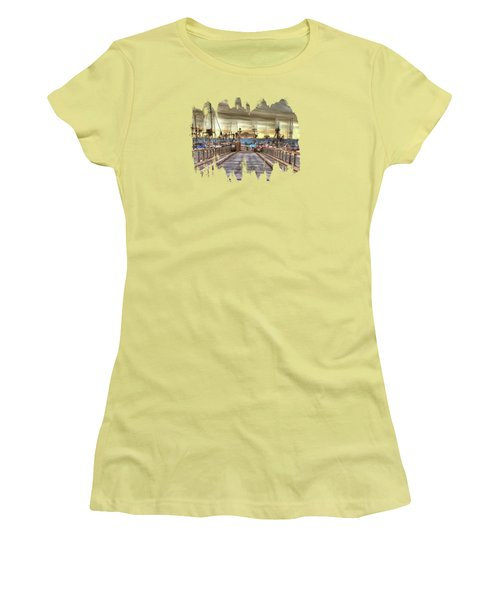 Port Of Newport - Dock 5 Women's T-Shirt (Athletic Fit)