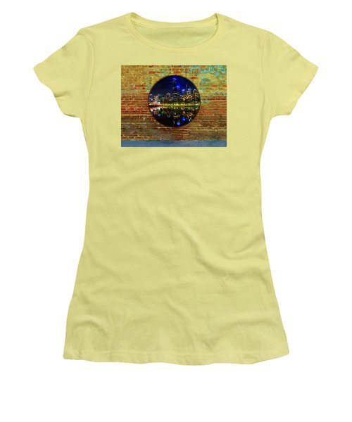 Portal Women's T-Shirt (Junior Cut) by Mark Blauhoefer