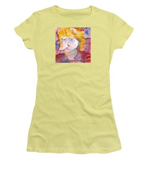 Portrait Of Graham Women's T-Shirt (Athletic Fit)