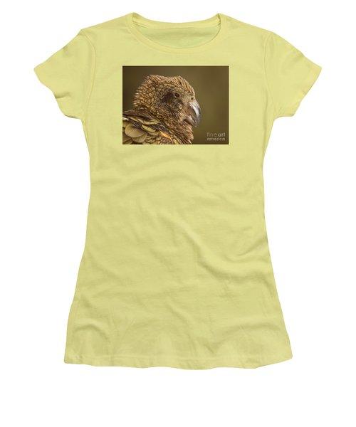 Portrait Of Kea Calling Women's T-Shirt (Athletic Fit)