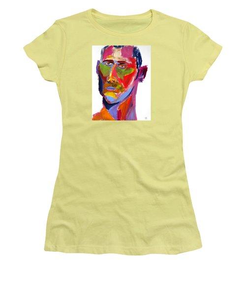 Portrait Prez Women's T-Shirt (Junior Cut) by Shungaboy X