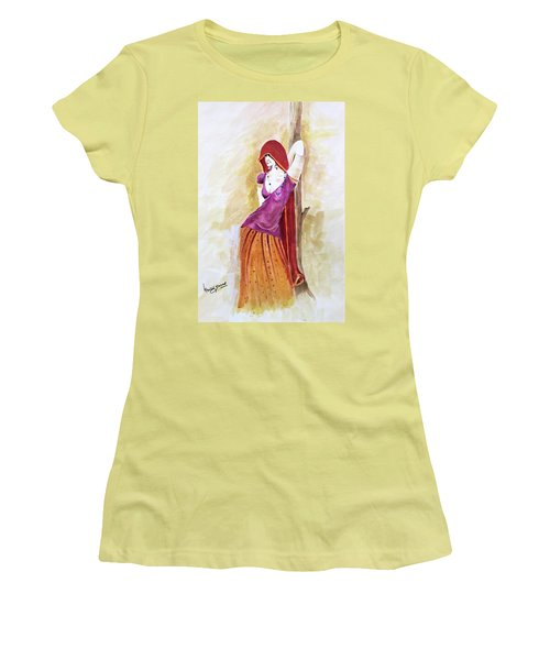 Pose Women's T-Shirt (Athletic Fit)