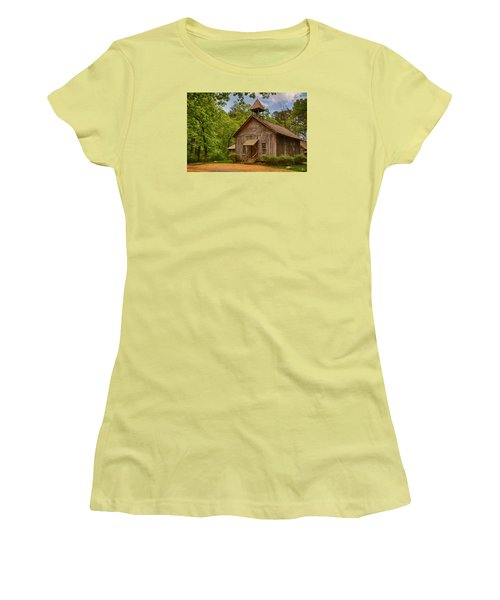 Possum Trot Church Women's T-Shirt (Athletic Fit)