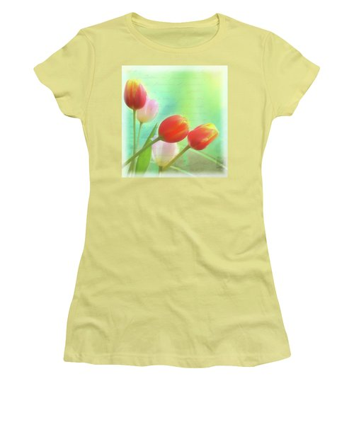 Postcards From The Edge Women's T-Shirt (Junior Cut) by Catherine Alfidi