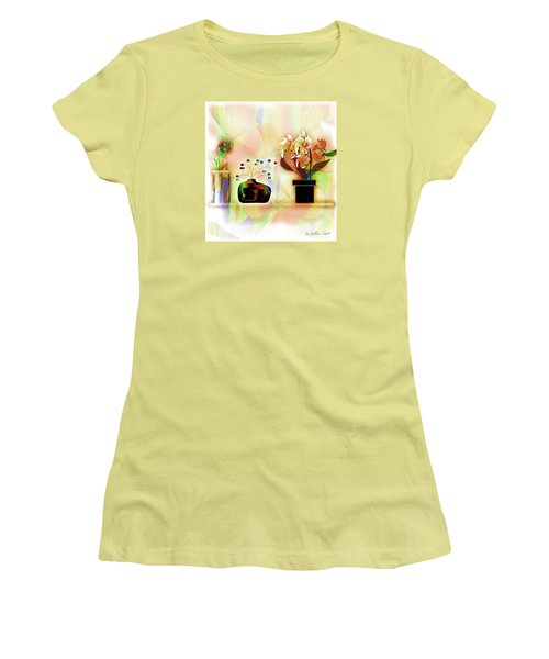 Potted Women's T-Shirt (Athletic Fit)